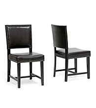 Baxton Studios Set of 2 Nottingham Modern Dining Chairs