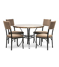 Baxton Studios Rhea Brown 5-pc. Modern Dining Room Collection