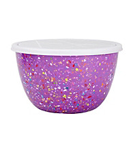 Zak Designs® 2-qt. Orchid Confetti Bowl with Lid