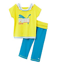 PUMA® Girls' 4-6X Cutie Capris Set