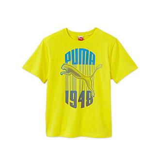 Boy 39 S T Shirt Puma Kids T Shirt Boys Drip Logo Tee
