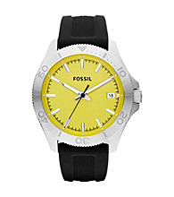 Fossil® Men's Retro Traveler Silvertone Watch
