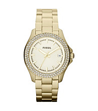 Fossil® Women's Retro Traveler Goldtone Watch