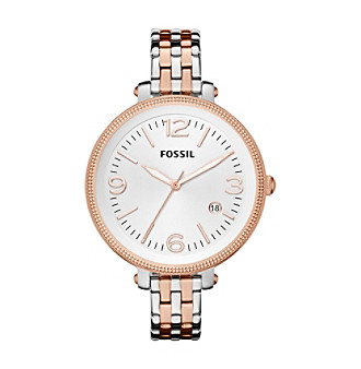 Fossil® Women's Heather Two Tone Watch