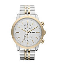 Fossil® Men's Townsman Two-Tone Watch