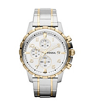 Fossil® Men's Dean Two-Tone Watch