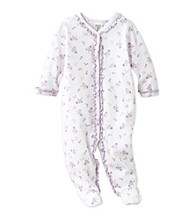Cuddle Bear® Baby Girls' Butterfly Print Footed Coverall