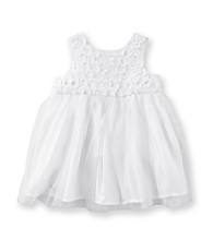 Cuddle Bear® Baby Girls' White Princess Dress