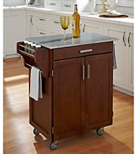 Homestyles® Cherry Finish Gourmet Cart