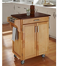 Homestyles® Natural Finish Gourmet Cart