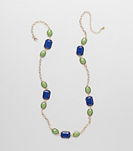 Erica Lyons® Goldtone Preppy Chic Necklace