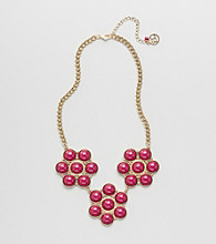 Erica Lyons® Berry Shockwave Necklace