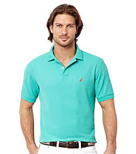 Nautica® Men's Solid Short Sleeve Deck Polo