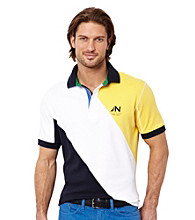 Nautica® Men's Bright White Short Sleeve Polo