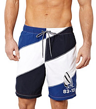 Nautica® Men's Navy Colorblock Swim Short