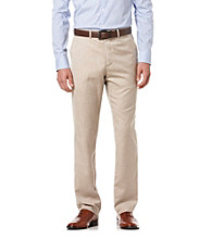 Perry Ellis® Men's Crimini Textured Flat-Front Pant