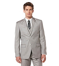 Perry Ellis® Men's Pewter Texture Sport Jacket