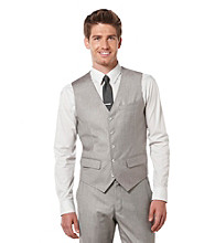 Perry Ellis® Men's Pewter Heather Texture Vest