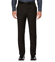 Perry Ellis® Men's Black Slim-Fit Flat-Front Pant