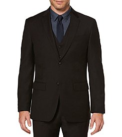 Perry Ellis® Men's Black Regular Fit Sportcoat
