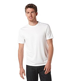 Perry Ellis® Men's Bright White Short Sleeve Luxe Crewneck Tee