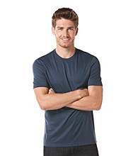 Perry Ellis® Men's Eclipse Short Sleeve Luxe Crewneck Tee
