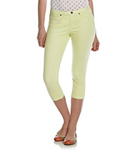 HUE® Lime Juice Sunwashed Denim Skimmer