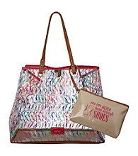 Nine West® Pink Multi Can't Stop Shopper Large Editor Tote - Stilleto