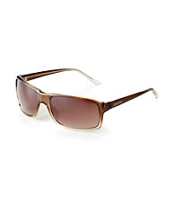 Calvin Klein® Men's Brown Wrap Sunglasses