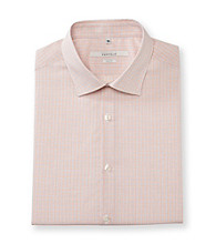 Perry Ellis Portfolio® Men's Pale Terracotta Slim Fit Dress Shirt