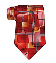 Jerry Garcia Men's Red Regular Width Novelty Tie