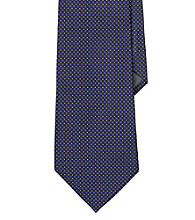 Lauren® Men's Black Standard Solid Silk Tie