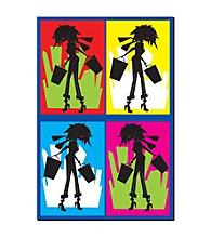 "Trademark Fine Art ""Shopaholic"" by Grace Riley"
