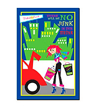 "Trademark Fine Art ""No Junk in the Trunk"" by Grace Riley"