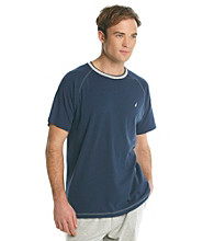 Nautica® Men's Anchor Knit Short Sleeve Crew Night Shirt