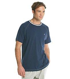 Nautica® Men's Anchor Knit Short Sleeve Crew Night Shirt