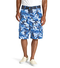 Levi's® Men's Blue Camo Squad Cargo Short