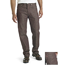 Levi's® Men's Dark Brown 501® Shrink-to-Fit Jean