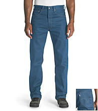 Levi's® Men's Medium Blue 501® Shrink-to-Fit Jean