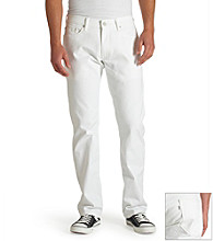 Levi's® Men's Bright White 514™ Straight-Fit Soft Washed Twill Jean