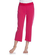 Chanteuse® Knit Crop Pants - Pink Horizon