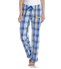 College Concepts Brewers Logo Plaid Pants - Royal