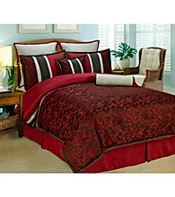 Cherry Blossom 8-pc. Comforter Set by Phoenix Home Fashion
