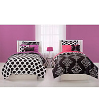 Opposites Attract Reversible Comforter Set by JACKIE McFEE
