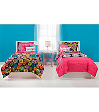 Peace & Thank You Reversible Comforter Set by JACKIE McFEE