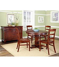 Home Styles® Durango Pedestal 5-pc. Cherry Wood Dining Set