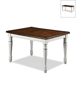 Home Styles® Rock River Rectangular White Dining Table