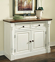 Home Styles® Rock River White Buffet
