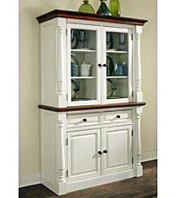 Home Styles® Rock River White Buffet and Hutch