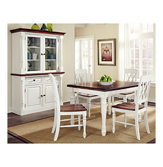 Home Styles® Rock River White Rectangular 5-pc. Dining S